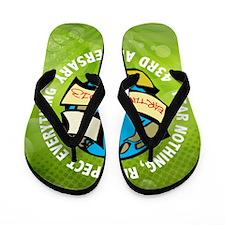 Earth Day Queen Duvet Flip Flops