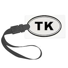 TK Sticker Luggage Tag
