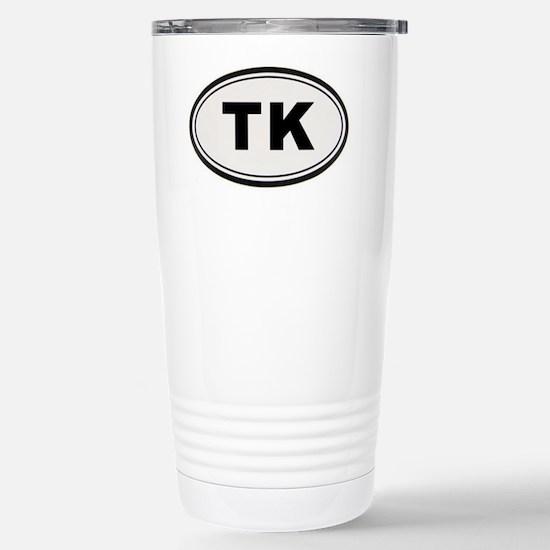 TK Sticker Stainless Steel Travel Mug