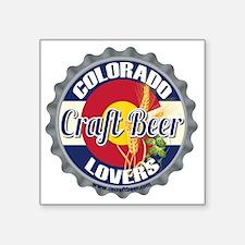 """COCB Logo Square Sticker 3"""" x 3"""""""
