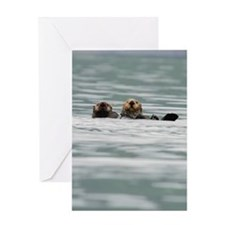 SwitchCase_Otter_14 Greeting Card