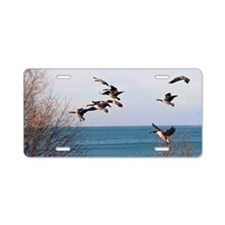 Geese Aluminum License Plate