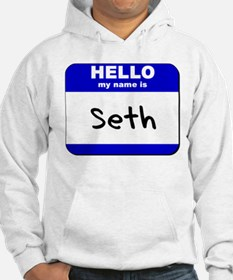 hello my name is seth Hoodie