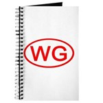 WG Oval (Red) Journal