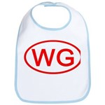 WG Oval (Red) Bib