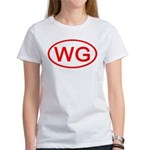 WG Oval (Red) Women's T-Shirt