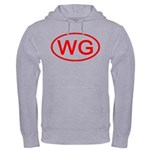 WG Oval (Red) Hooded Sweatshirt
