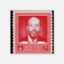 "stamp Square Sticker 3"" x 3"""
