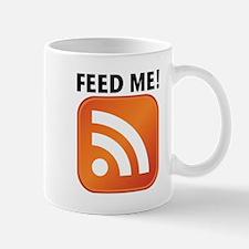 Feed Me RSS icon Mug