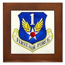 1st Air Force Framed Tile