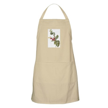 Vintage Strawberries BBQ Apron