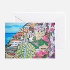 Positano Greeting Card
