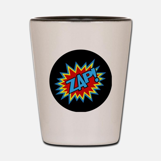 Hero Zap Bursts Shot Glass