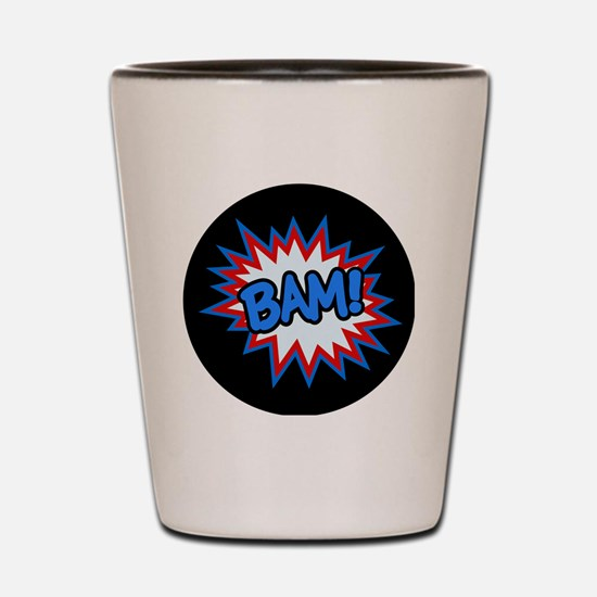 Hero Bam Bursts Shot Glass
