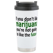 marijuanarectangle Travel Mug