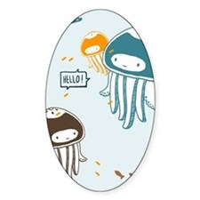 Cute Jellyfish Decal