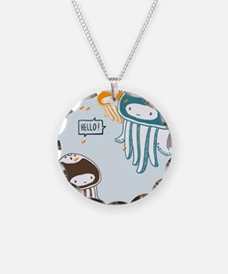 Cute Jellyfish Necklace
