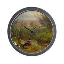 Little Swimmers Wall Clock