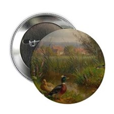 """Little Swimmers 2.25"""" Button"""