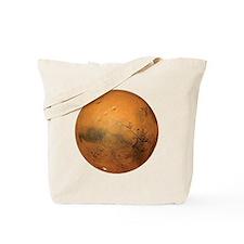 Planet Mars Tote Bag