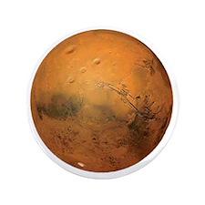 "Planet Mars 3.5"" Button"