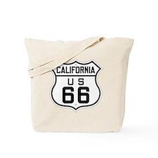 California US 66 sign Tote Bag