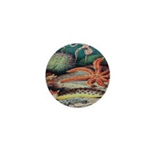 Vintage Sea Creatures Mini Button