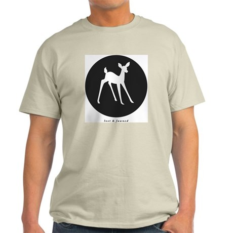 Lost Fawned Circle Light T-Shirt