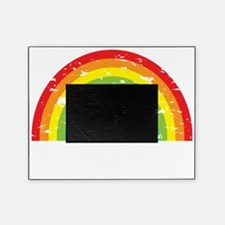 VeganRainbow_WhiteText Picture Frame