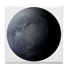 Planet Pluto Tile Coaster