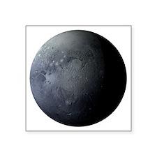 """Planet Pluto Square Sticker 3"""" x 3"""""""