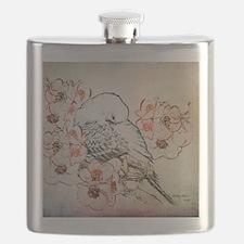 Mousepad Parakeet 004 Flask
