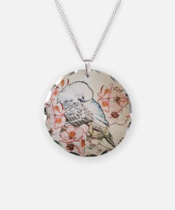 Mousepad Parakeet 004 Necklace