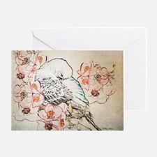 Mousepad Parakeet 004 Greeting Card