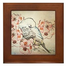 Mousepad Parakeet 004 Framed Tile