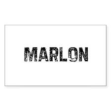 Marlon Rectangle Decal