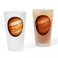 Planet Jupiter Drinking Glass