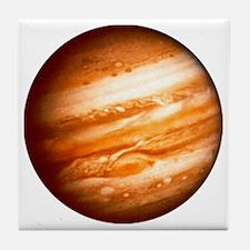 Planet Jupiter Tile Coaster