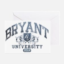 Bryant Last Name University Class of Greeting Card