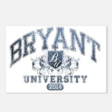 Bryant Last Name Universi Postcards (Package of 8)