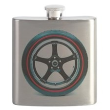 Red Line Tire Flask