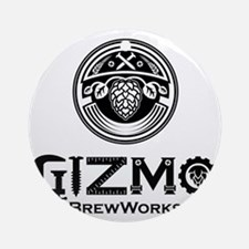 Gizmo Brew Works Round Ornament