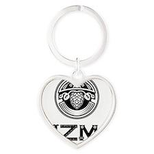 Gizmo Brew Works Heart Keychain
