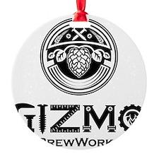Gizmo Brew Works Round Ornament