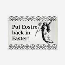 Keep Eostre in Easter! Rectangle Magnet