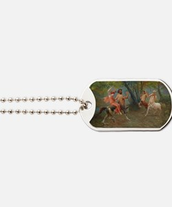 Centaurs in Love and War Dog Tags