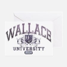 Wallace Last Name University Class o Greeting Card