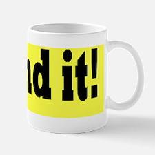I found it Mug