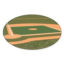 Baseball Field Decal