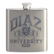Diaz Last Name University Class of 2014 Flask
